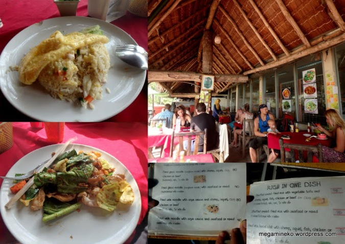 almuerzo railay